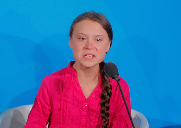 16-year-old Swedish climate activist Greta Thunberg speaks at the 2019 United Nations Climate Action Summit at U.N. headquarters in New York City, New York, U.S., September 23, 2019