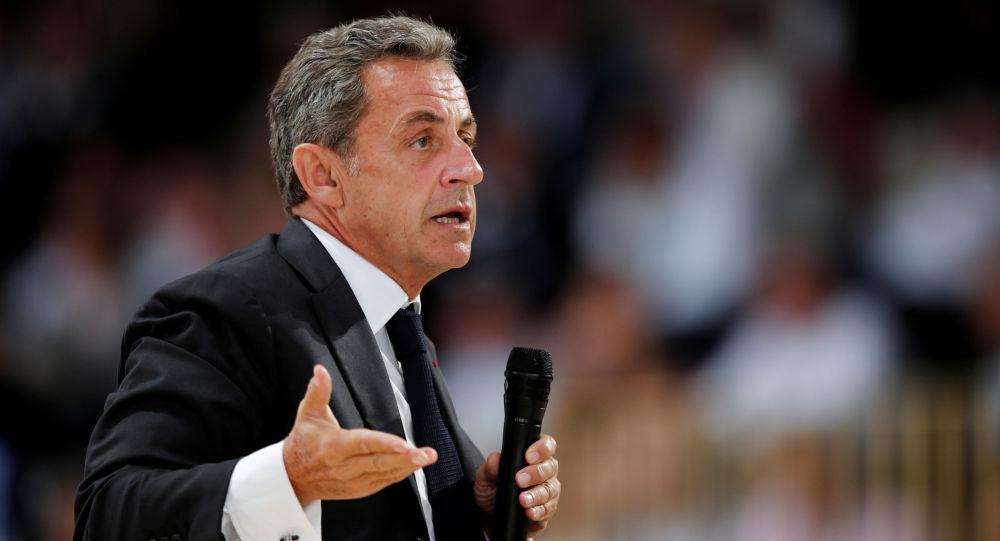 Former French President Nicolas Sarkozy attends the MEDEF union summer forum renamed La Rencontre des Entrepreneurs de France, LaREF, at the Paris Longchamp racecourse in Paris, France, August 29, 2019