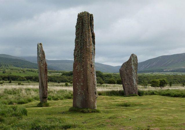 Isle of Arran, Standing stones , Machrie Moor