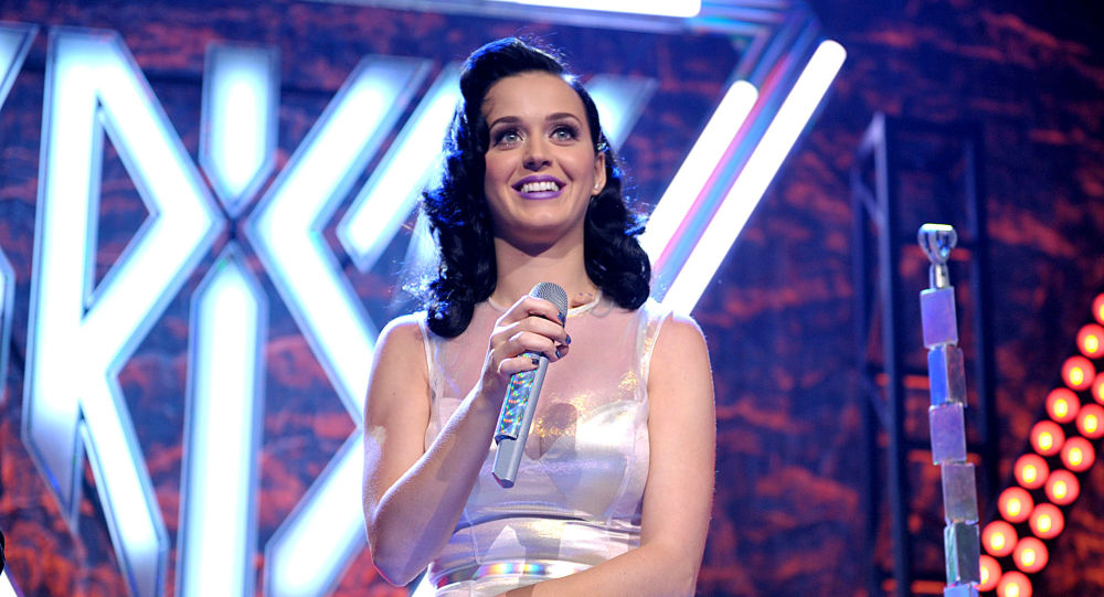 Katy Perry performs at her iHeartRadio Prism album release party at the new iHeartRadio Theatre on Tuesday, Oct. 22, 2013, in Burbank, Calif.