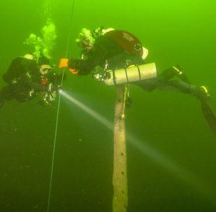 Diving wreck of Velox
