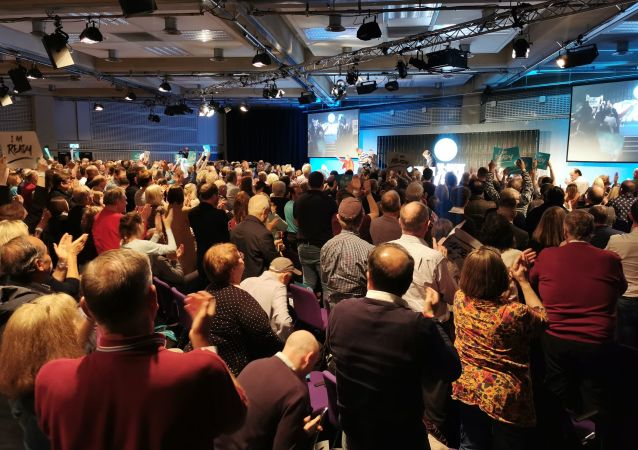 Brexit party rally in London