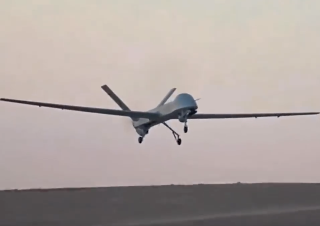 China Rainbow-4 UAV Test CH-4 Test