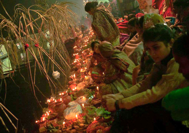 Chhath Puja, the biggest religious festival dedicated to the worship of Sun God