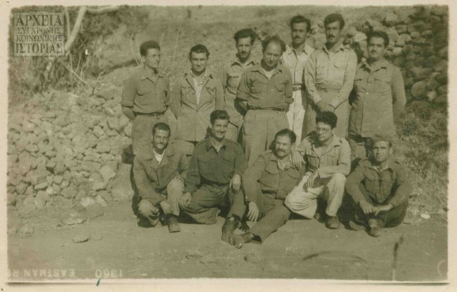 A group from Second Battalion in isolation