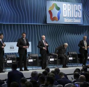 BRICS Leaders at the BRICS Business Council