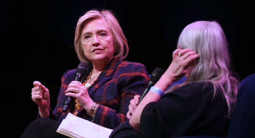 Hillary Rodham Clinton at Southbank Centre's Royal Festival Hall