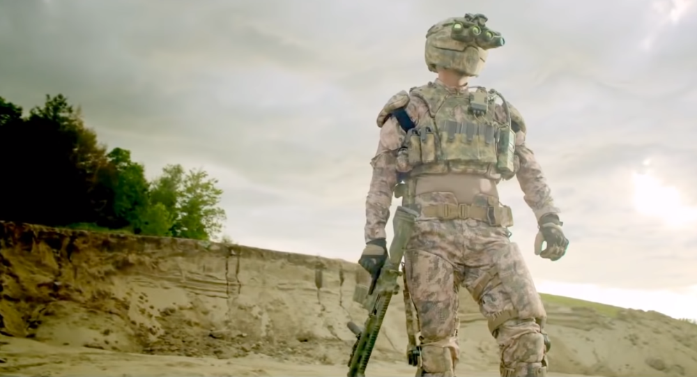 Revision Military - Exoskeleton Integrated Soldier Protection System