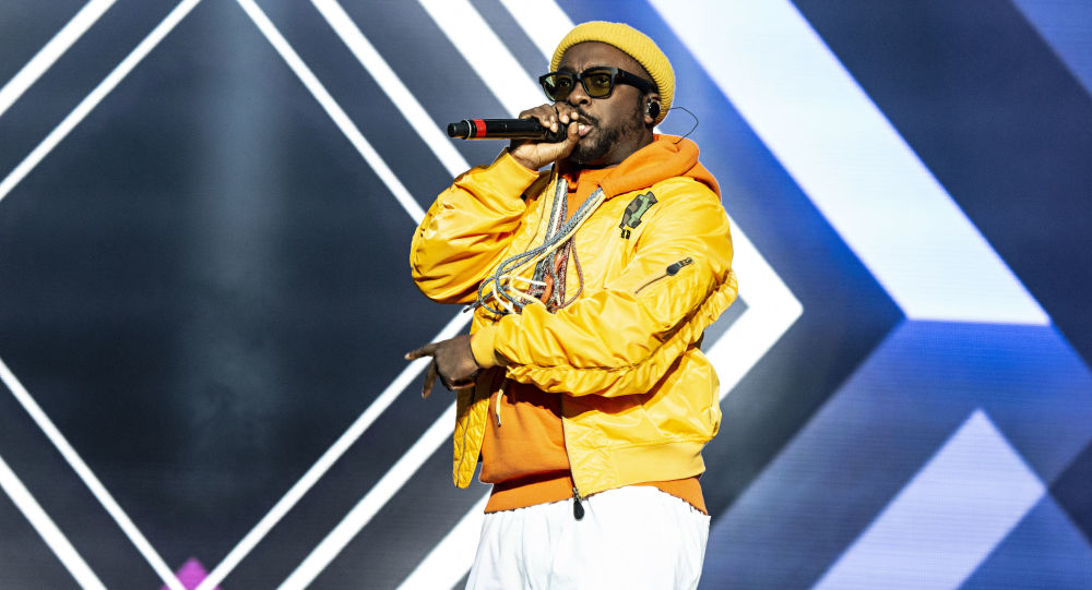 Will.i.am of the Black Eyed Peas seen at KAABOO Texas at AT&T Stadium on Saturday, May 11, 2019, in Arlington, Texas. (Photo by Amy Harris/Invision/AP)