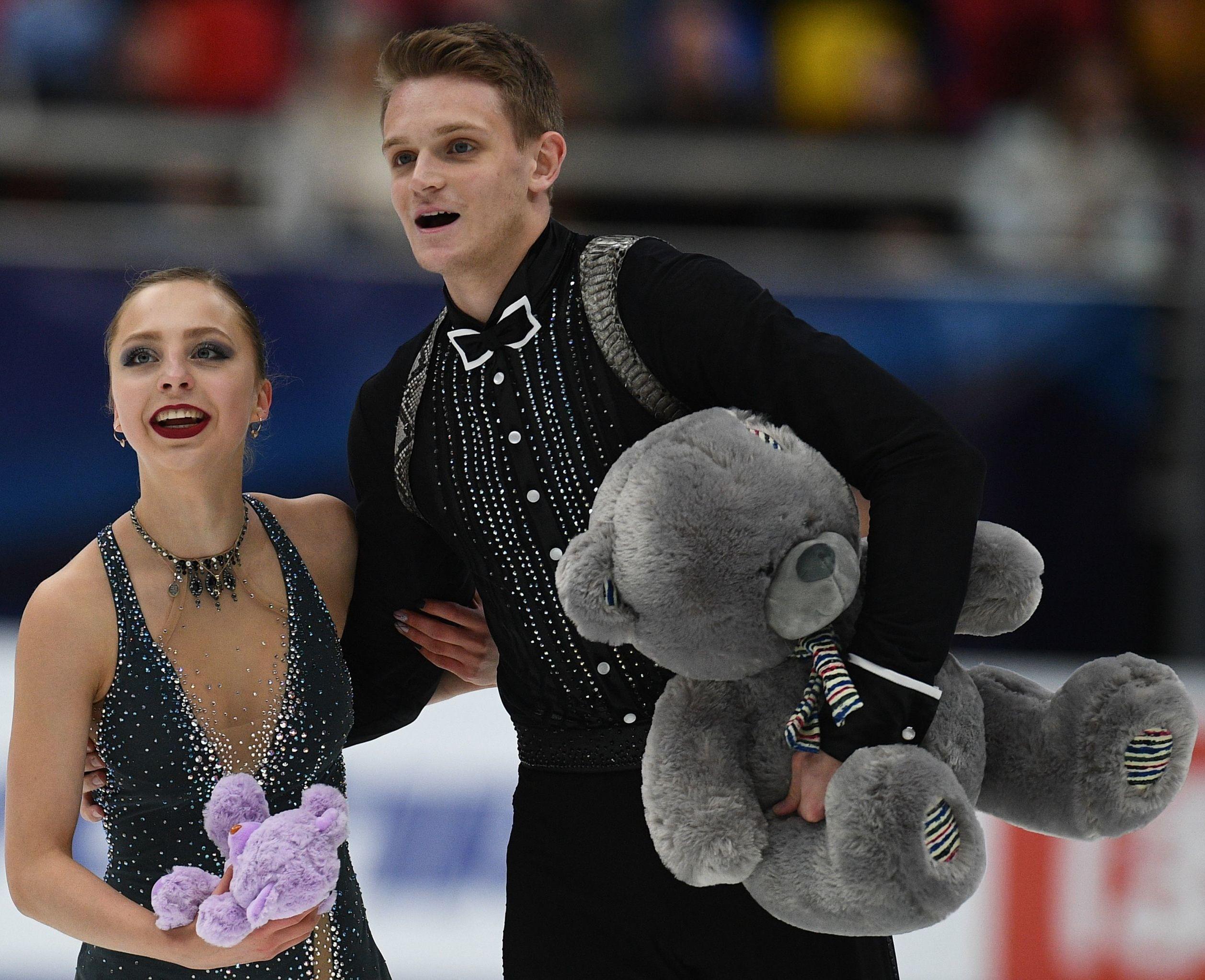 Aleksandra Boikova and Dmitrii Kozlovskii in Moscow