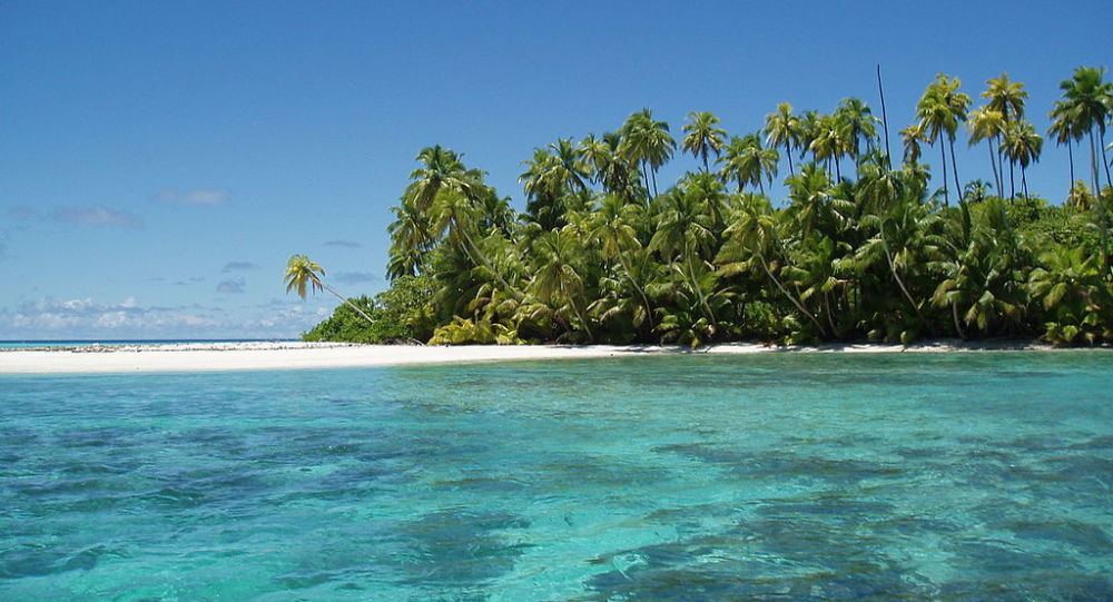 Salomons Atoll in the Chagos