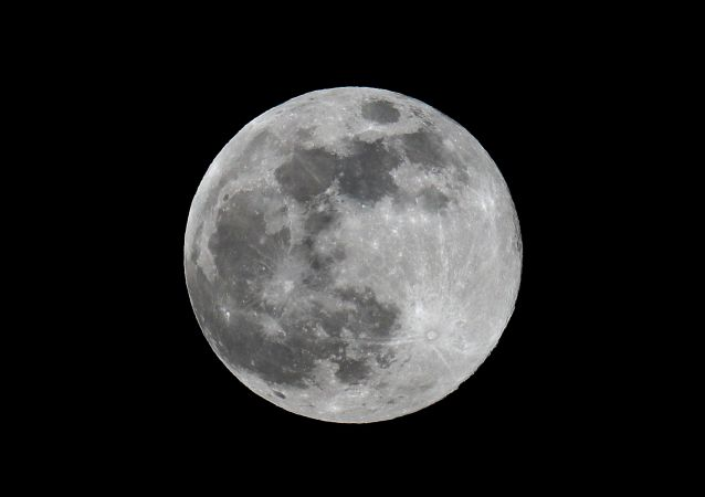 Super moon observed in Moscow.