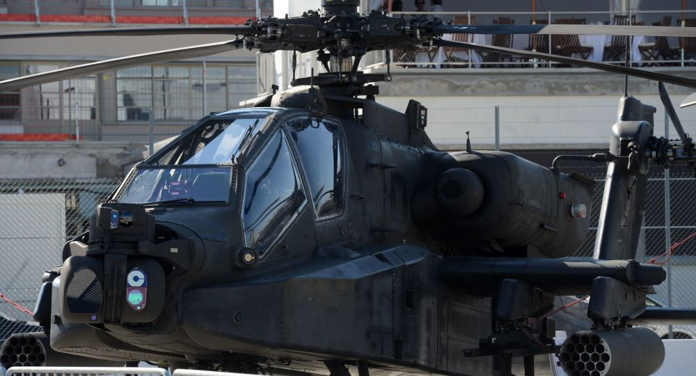 AH-64D Apache Longbow at the International Paris Air Show