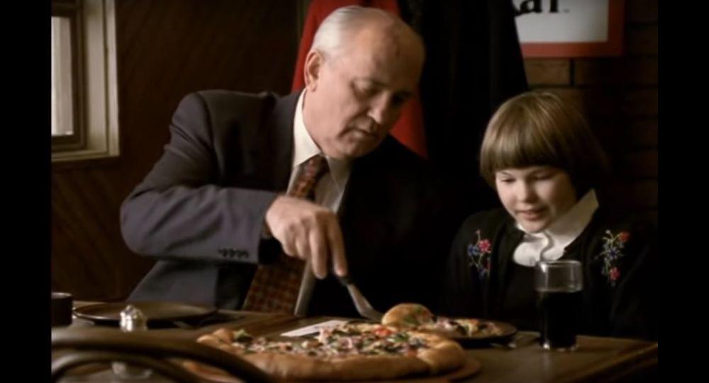 Pizza Hut Gorbachev TV Spot Commercial :60 International version