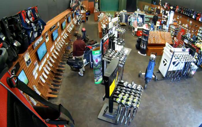 US Employee Initiates Golf Bag Domino Effect