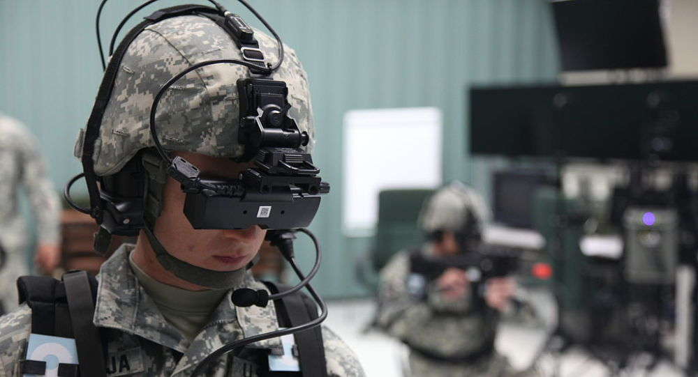 U.S. Army virtual reality training