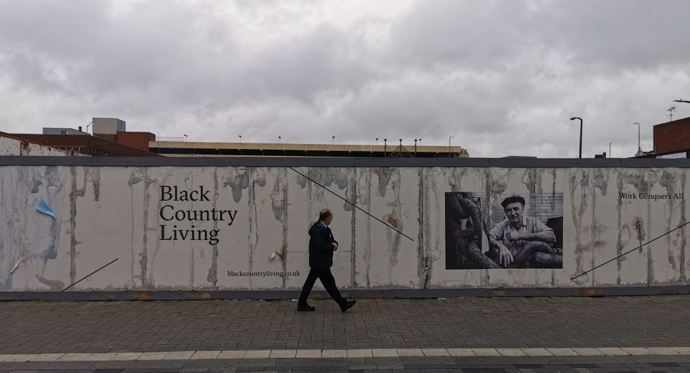 West Bromwich Black Country wall