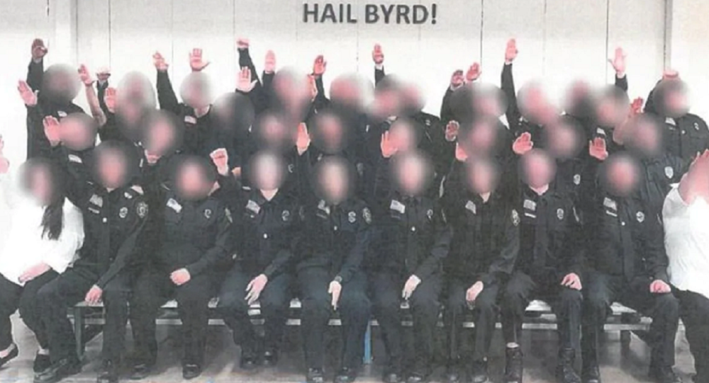 Nazi Salute Pic Prompts Investigation of West Virginia Corrections Employees