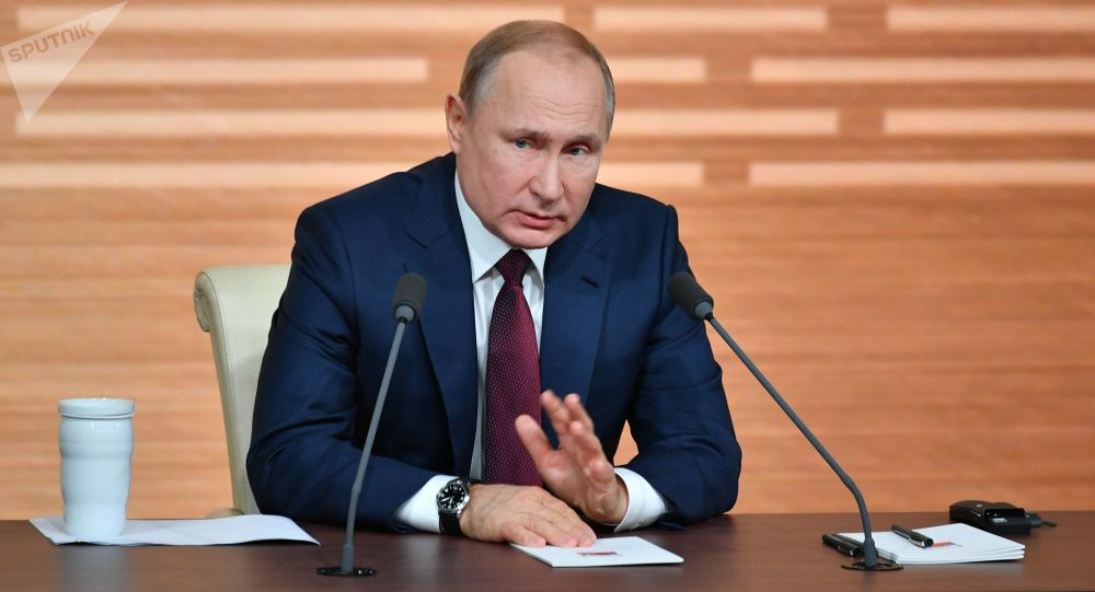 Vladimir Putin says Trump was impeached for 'made-up reasons'