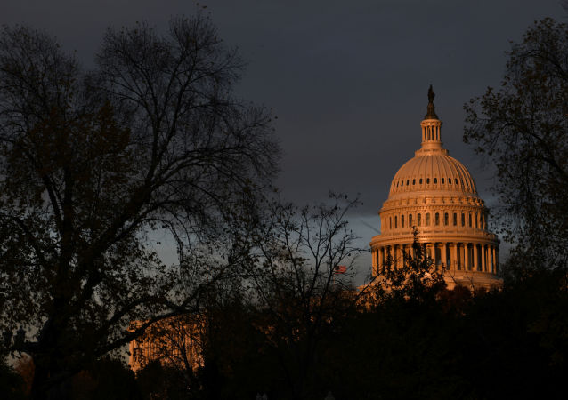 The U.S. Capitol building is pictured at sunset on Capitol Hill in Washington, U.S., November 22, 2019.