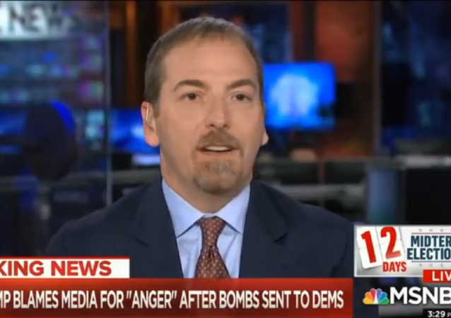 MSNBC host and Political Director Chuck Todd says Russia could be behind pipe bombs mailed to prominent Democrats.