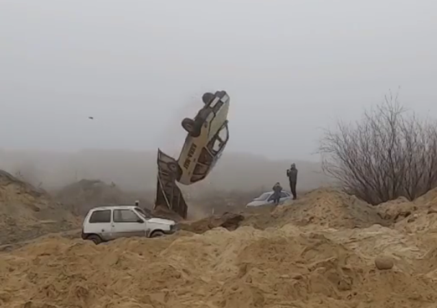 Video: Russian Stunt Driver Repeats Car Jump From James Bond's 'The Man With The Golden Gun'