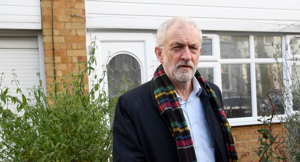 Britain's Labour Party leader Jeremy Corbyn