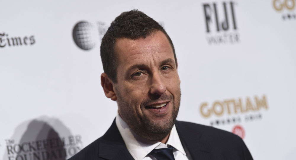 Adam Sandler attends the Independent Filmmaker Project's 29th annual IFP Gotham Awards at Cipriani Wall Street on Monday Dec. 2, 2019, in New York.