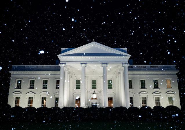 Snowfall at the White House