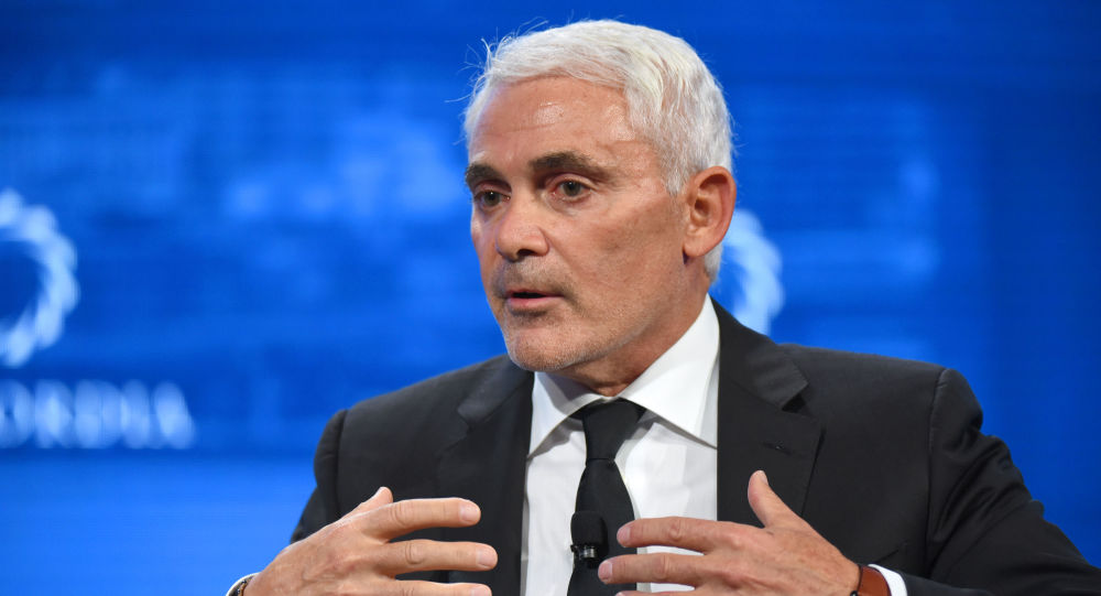 CEO of the Fiore Group and Founder and President of Radcliffe Foundation Frank Giustra speaks onstage during the 2018 Concordia Annual Summit - Day 2 at Grand Hyatt New York on September 25, 2018 in New York City.
