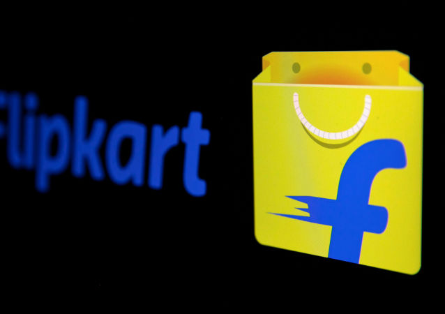 The logo of India's e-commerce firm Flipkart is seen in this illustration picture taken January 29, 2019