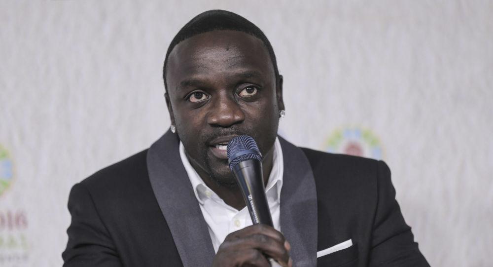 Akon, international music star and Co-Founder of Akon Lighting Africa