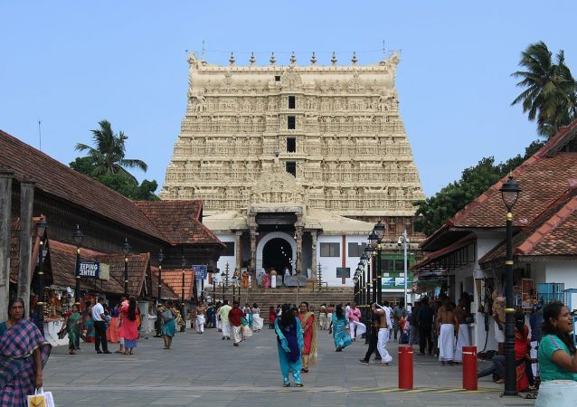 Kerala, India, Padmanabhaswamy Temple