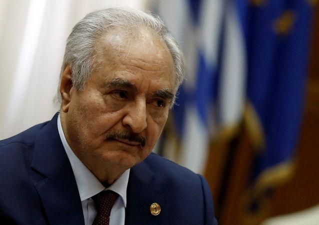 Libyan commander Khalifa Haftar