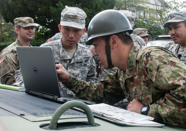 US soldiers in Japan