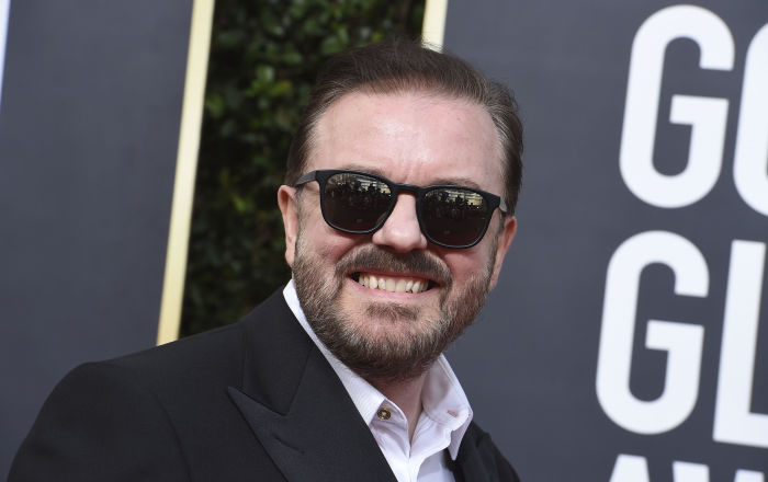 Ricky Gervais Mocks Oscars with His 'First Best Joke' If He Were Oscars Host - Sputnik International