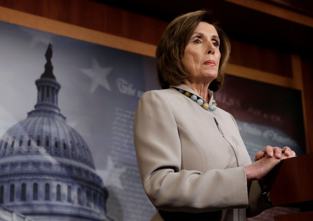 U.S. House Speaker Nancy Pelosi (D-CA) holds a news conference on President Trump's full Budget Request for fiscal year 2021 at the Capitol in Washington, U.S., February 11, 2020