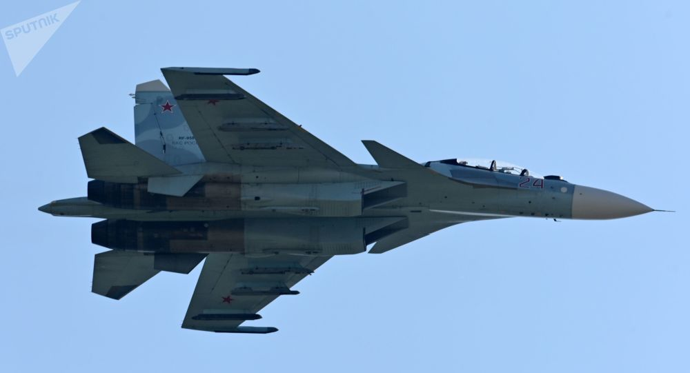 Russia's Su-27 Scrambled to Intercept US Spy Plane Over Baltic Sea