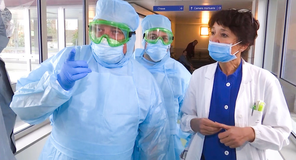 From Russia With Aid: Russian Military Experts Visit Medical Facilities in Coronavirus-Hit Bergamo