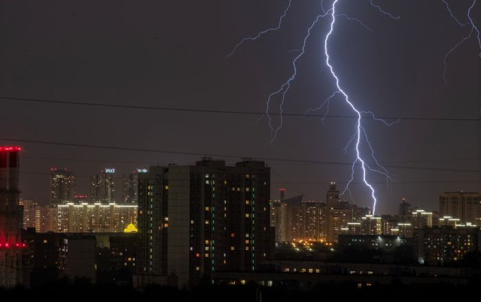 Lightning Sparks Fire Atop Moscow Research Center Studying COVID-19 Vaccines, Authorities Say