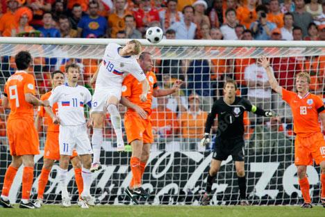 Russian Team through to EURO 2008 semi-finals!