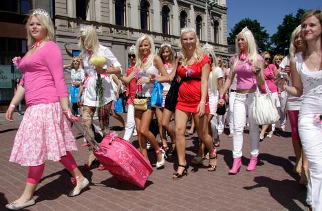 Afa Latvian Russian Women Right 121