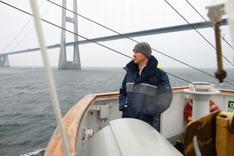 Экипаж Крузенштерна на втором этапе трансатлантической экспедиции