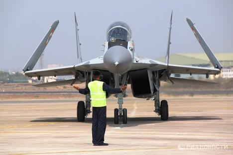 Российские МиГ-29К приняты на вооружение Индии