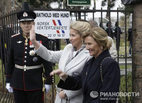 Светлана Медведева и королева Соня