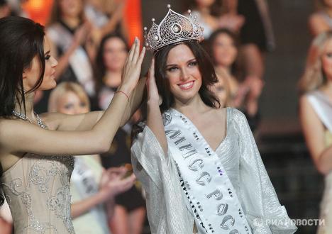 Russia's representative at Miss Universe 2010