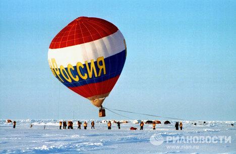 Экспедиция на Северный Полюс с участием туристов