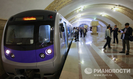 First stations and passengers of Almaty subway