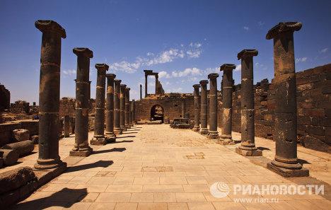 Разрушенный древнеримский город