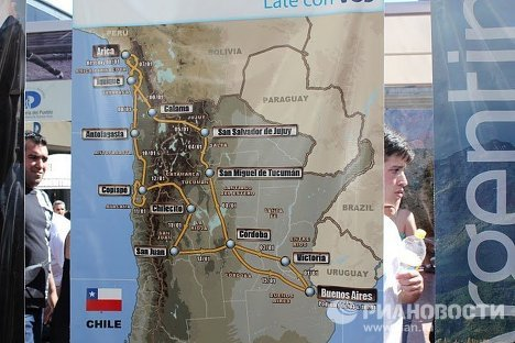 Dakar 2011 rally raid kicks off in Argentina